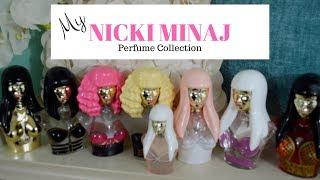 Nicki Minaj Perfume Collection 2017 BREAK THE INTERNET!!!