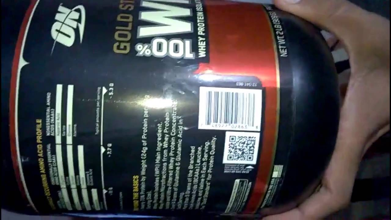 45adec64b Optimum Nutrition (ON) 100% Whey Gold Standard - 2 lbs unboxing on( amzon ) whey  protein - YouTube
