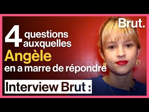4 questions auxquelles Angèle en a marre de répondre