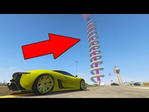 TENGO QUE SUBIR ESO?! - CARRERA GTA V ONLINE - GTA 5 ONLINE