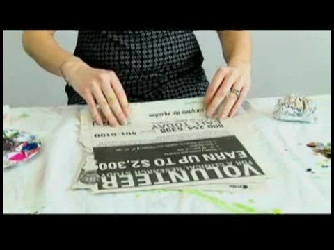 Children's Crafts: Newspaper Snakes : Uses for Newspaper in Arts & Crafts