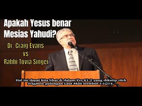 Debat: Dr. Craig Evans VS Rabbi Tovia Singer (Subtitle Bhs Indonesia)