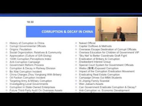 20160907海野塾夜間コースCorruption in China 1-Topics