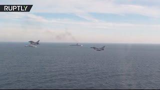 Военная авиация Великобритании сопровождает российские корабли «Петр Великий» и «Адмирал Кузнецов»