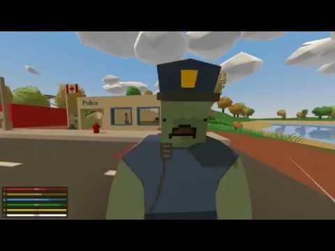 Unturned - GangZ #2: Looting The Towns