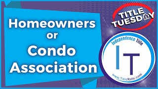 Should you join a Homeowners or Condo Association [E-111]