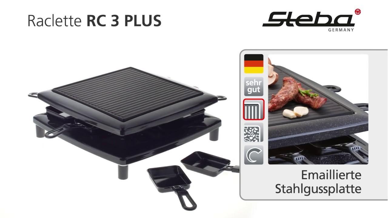 Steba RC 3 Plus Raclette