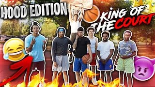I Played King Of The Court In The Hood‼️ | *Winner Gets to 1v1 Me*👀
