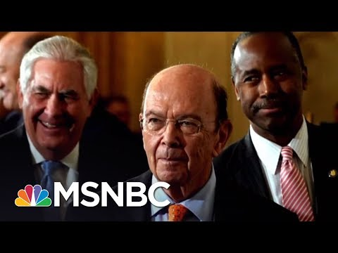 EXCLUSIVE: Commerce Secretary Wilbur Ross Has Financial Ties To Putin-Connected Business | MSNBC