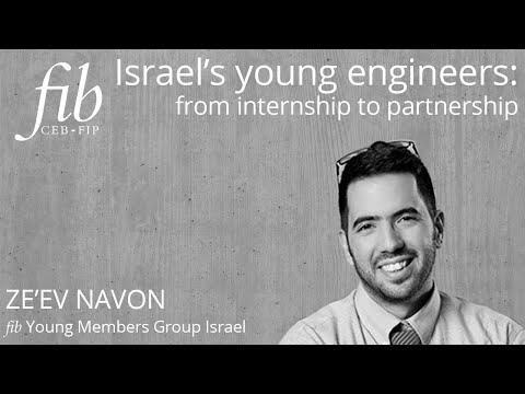 Fib YMG Israel | Ze'ev Navon | Israel's Young Engineers: From Internship To Partnership