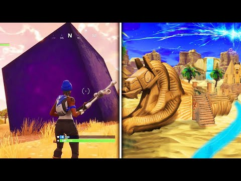 Fortnite Season 6 Begins & Fortnite Season 5 Ends this is HOW (Fortnite Cube) What is the Cube