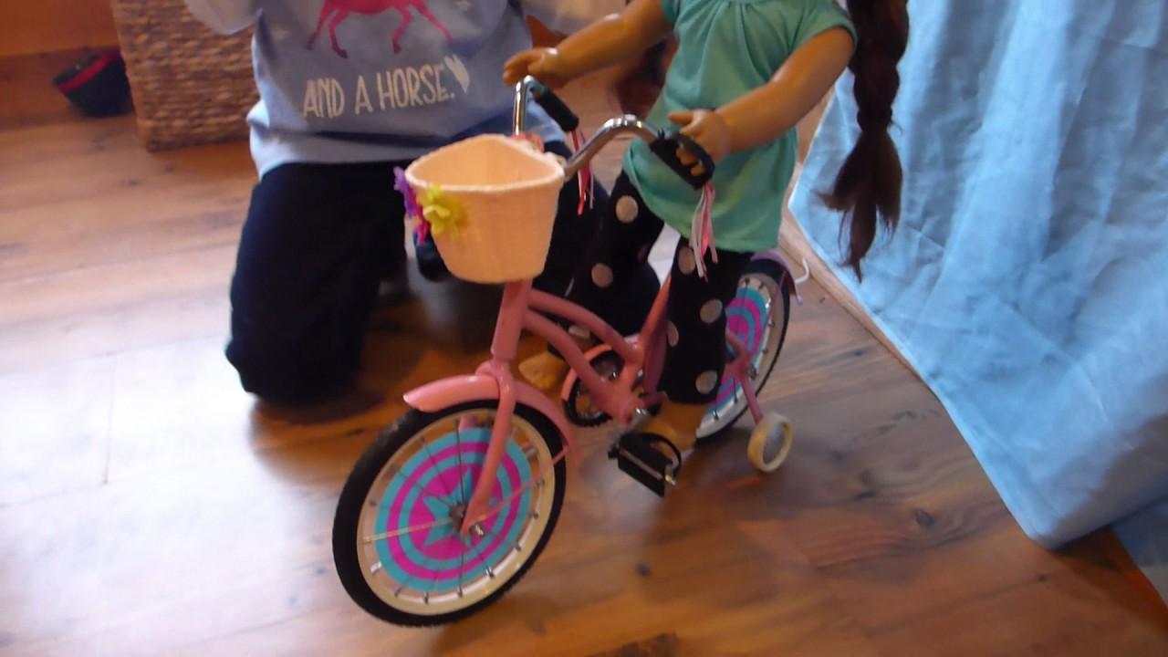 Unboxing And Review Of Our Generation Doll Bike Youtube
