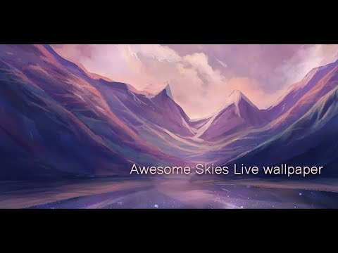 Awesome Sky : Parallax 3D effect live wallpaper for android - YouTube