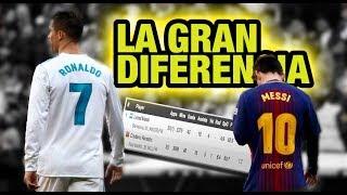 La Gran DIFERENCIA entre Cristiano Ronaldo y Messi
