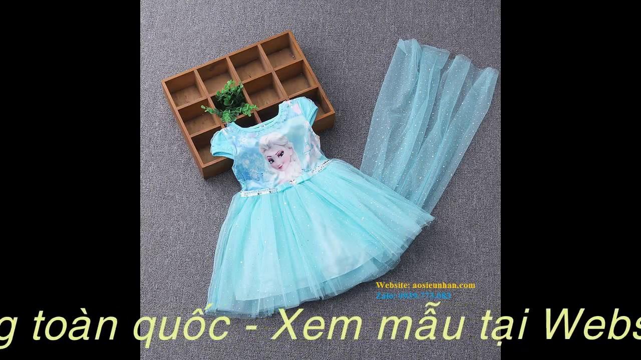 Những mẫu đầm nữ hoàng băng giá Elsa hút hồn bé gái | Tất tần tật thông tin về thời trang nữ