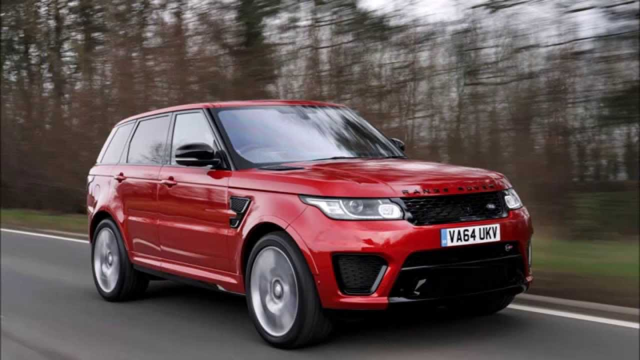 Range Rover Sport Svr In Red