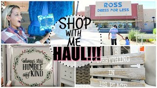 SHOP WITH ME & HAUL 2017 | HOME, CLEANING, FITNESS