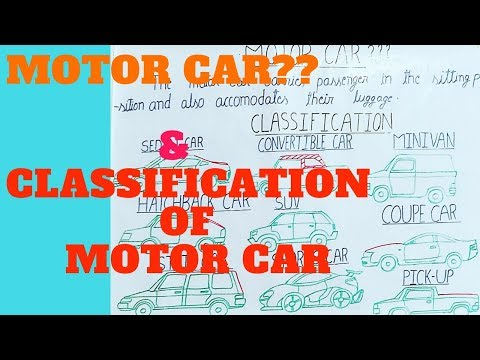 What is motor car? and Classification of motor Car. in (HINDI)