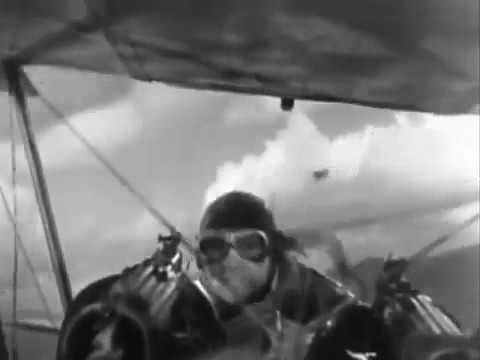 "Intro footage inc. dogfight: "" Flight Commander"" /""The Dawn Patrol"" (1930)"