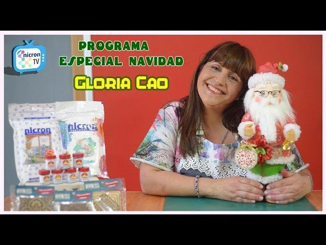 Especial Navidad | NICRON TV | Gloria Cao | Paso a paso gratuito