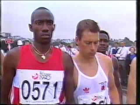 1990 Commonwealth Games Marathon Men Pt 1 of 2