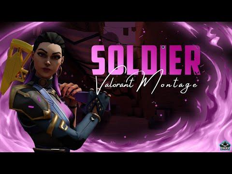 Soldier - Valorant Montage aka Fragmovie - Видео онлайн