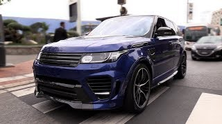 Land Rover Range Rover Overfinch GT SVR - BRUTAL SOUNDS!