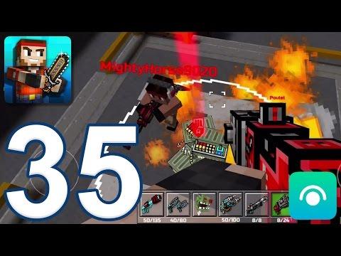 Pixel Gun 3D - Gameplay Walkthrough Part 35 - Rocket Jump (iOS, Android)