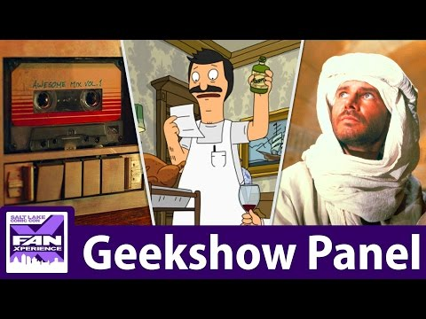 Geekshow Podcast || Live at FanX 2017! || Live panel recording @ Salt Palace Convention Center