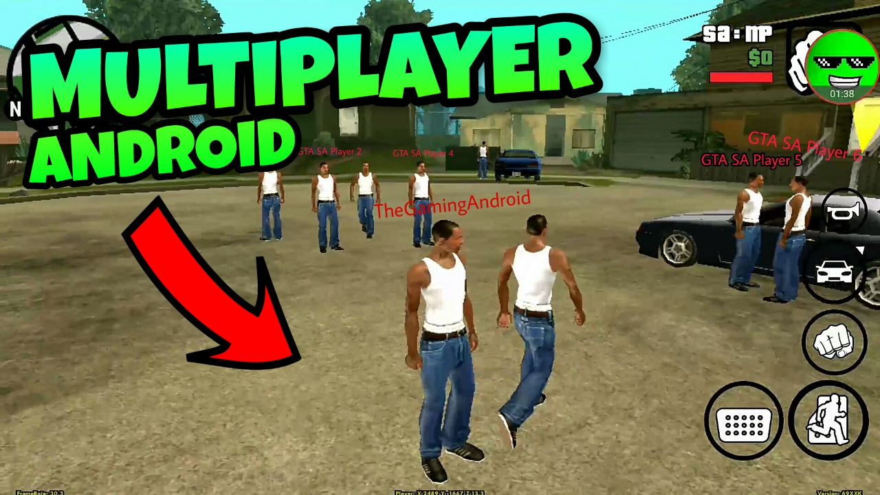 GTA San Andreas Android:Multiplayer Mod! (GTA SA-MP Android) - YouTube