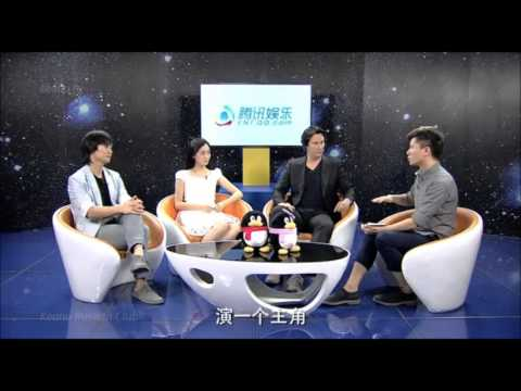 2013 Keanu Reeves: Talk show Tencent QQ (China)