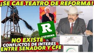MEDIOS acusa Conflicto de interes en MORENA con CFE &quotSe les cae el teatro&quot