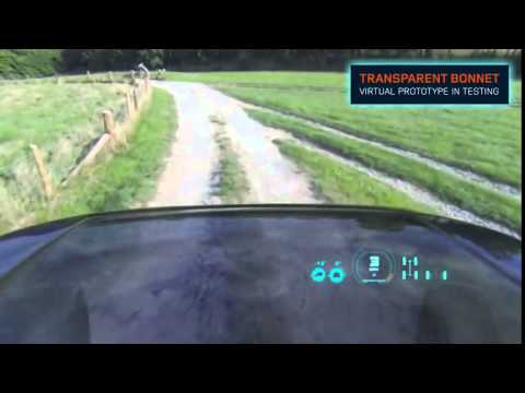 Land Rover Reveals Transparent Hood