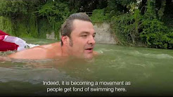 The man who swims to work (BBC Capital)