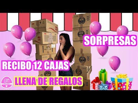 ABRIENDO 12 CAJAS DE REGALOS !!!! 🎁 LA DIVERSION DE MARTINA