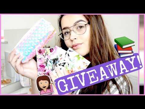 BACK TO SCHOOL GIVEAWAY! (OPEN) | Charlotte Emily