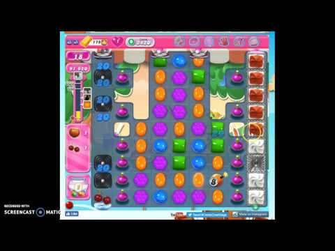 Candy Crush Level 2420 help w/audio tips, hints, tricks