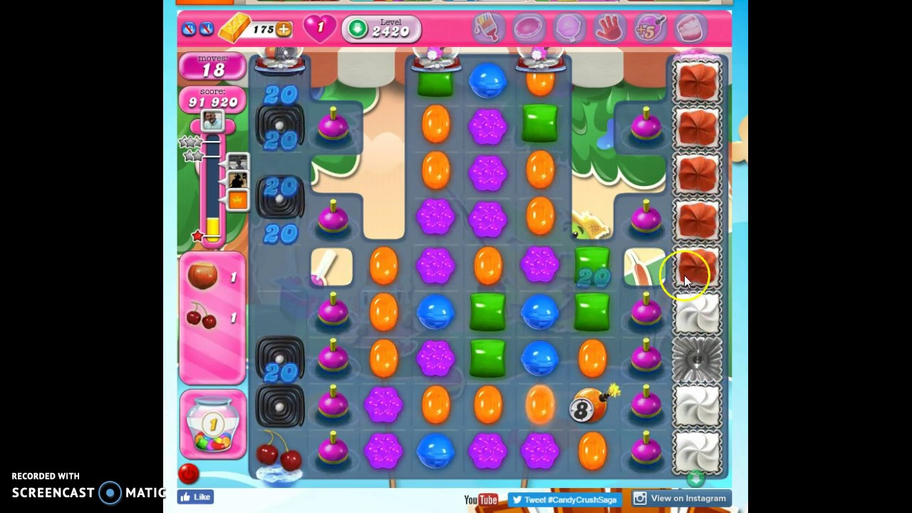 Candy Crush Saga Level 2420 Help Solutions And More Gogamerez