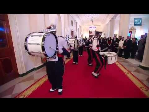 Drumline in the White House: Raw Footage