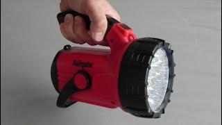 Обзор и тест светодиодного фонаря - прожектора Navigator.