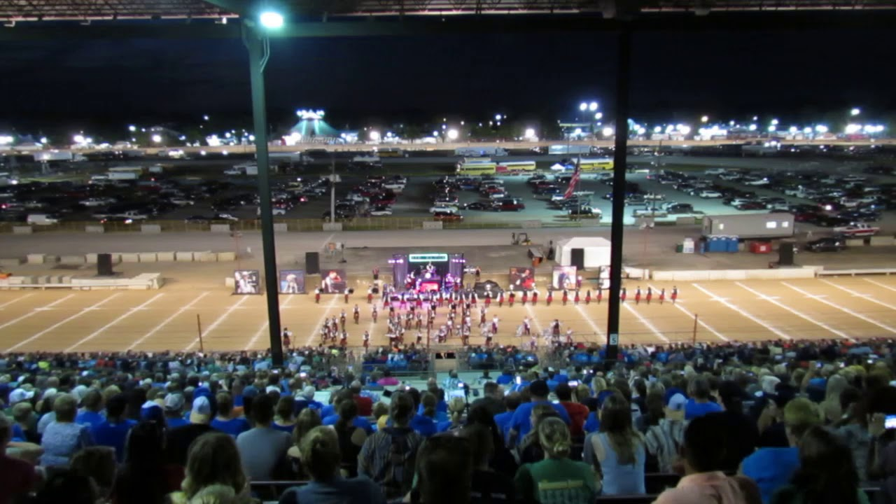 Indiana State Fair Band Day 2019 - Anderson High School Marching Highlanders