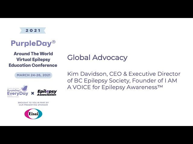 Global Advocacy - Purple Day® Around The World 2021 Virtual Epilepsy Education Conference
