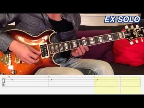 回聲樂團ECHO - 時髦 (Guitar Tutorial)