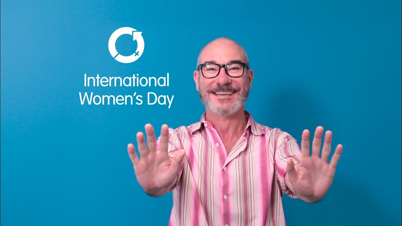 #PressForProgress this International Women's Day