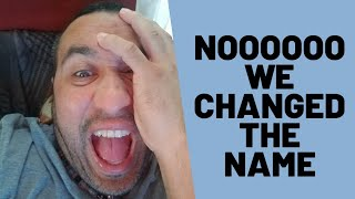It has finally happened, We Changed The Chanel NAME!