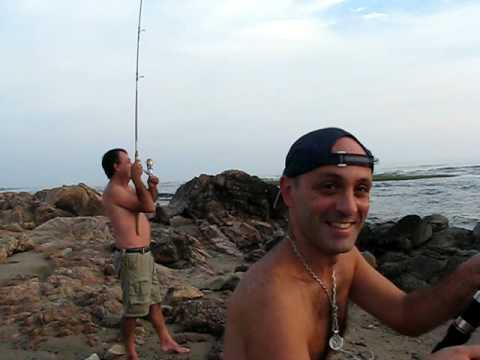 Veterinarios de pesca II - Pesca de la corvina negra en Punta Colorada