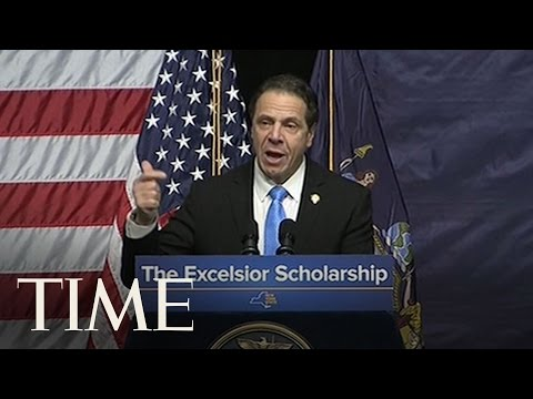 New York Governor Andrew Cuomo Announces Free College Plan With Bernie Sanders | TIME