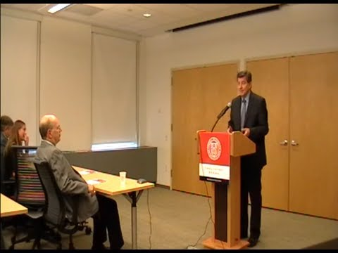 ILO Director-General Guy Ryder speaks at the Worker Institute at Cornell