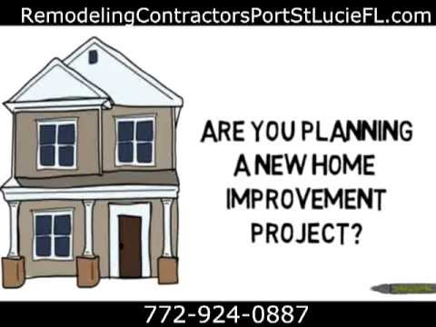 Remodeling Contractors Port St Lucie, FL | Call 772-924-0887