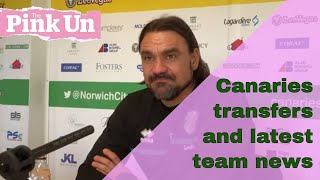 Daniel Farke on Norwich City transfer speculation, team news and injuries